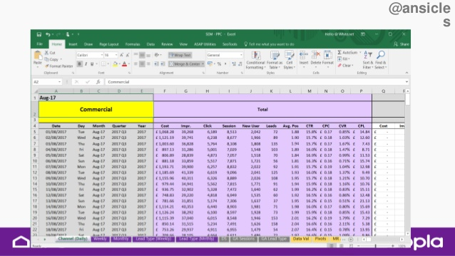 Zoopla Benchmark talk Anu spreadsheet image