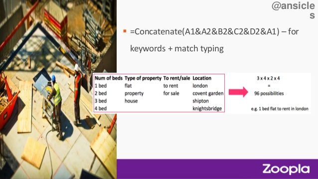 Zoopla Benchmark talk concatonate image