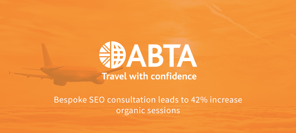 ABTA organic search case study