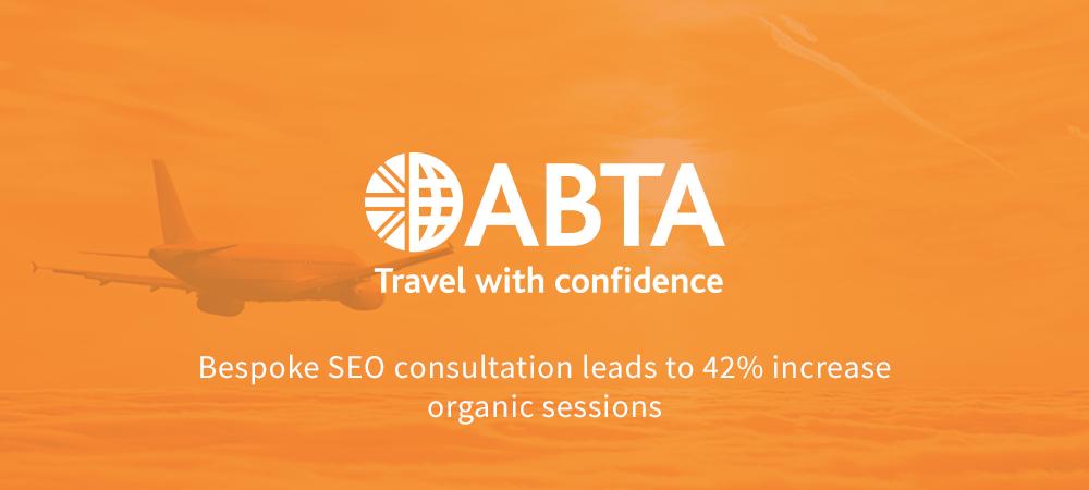 ABTA organic search case study