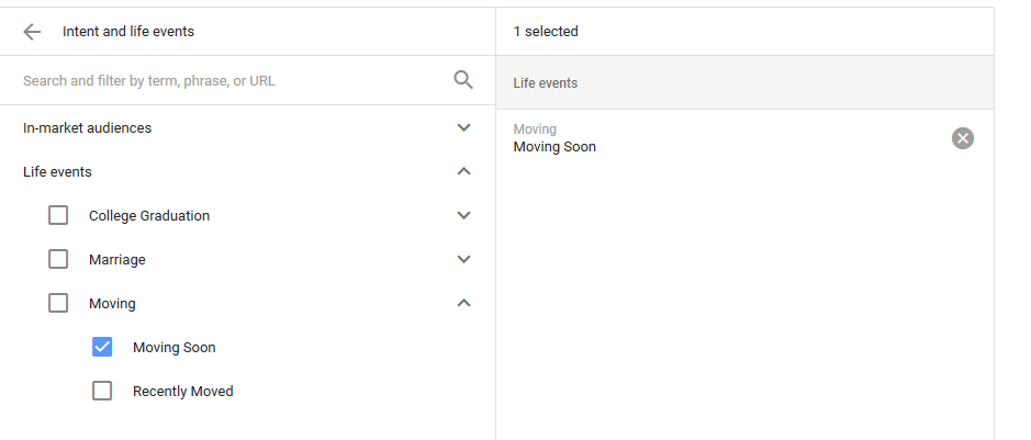 adwords-layering-life-events-targeting
