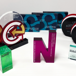 54 nominations, 14 wins, 1 search marketing agency