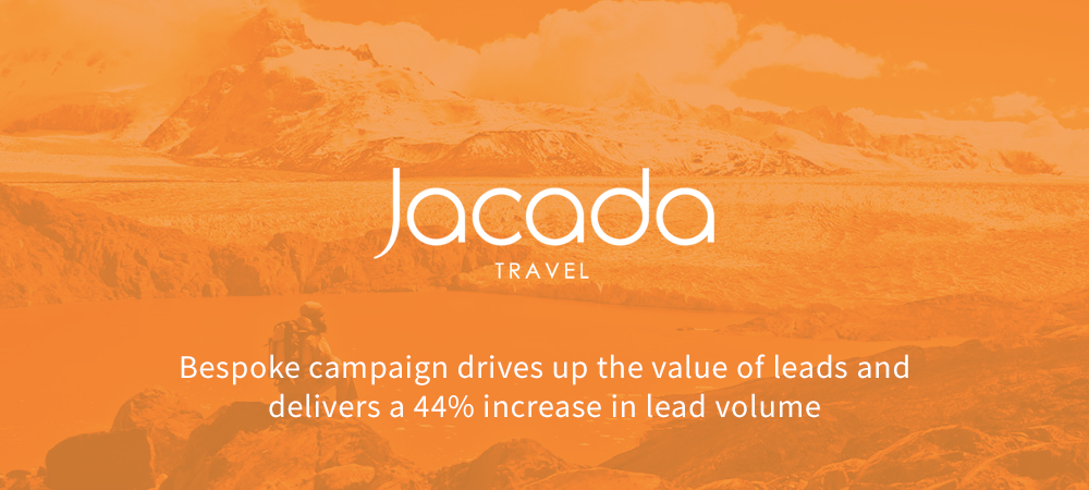 Jacada Travel paid search case study