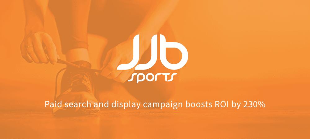 JJB Sports case study - logo