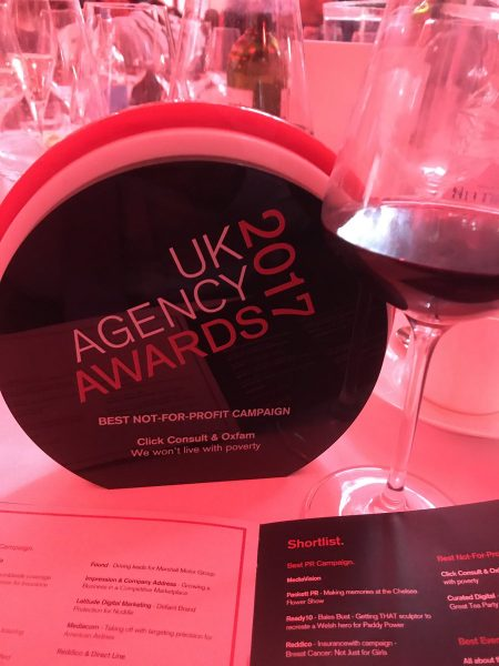 uk agency awards 2017 oxfam