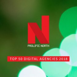 Click Consult proud to sponsor Prolific North's Top 50 Agencies list for 6th successive year