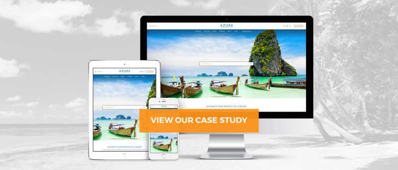 view azure case study - website design