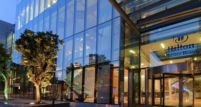 manchester hilton hotel deansgate