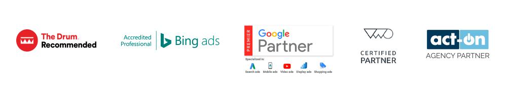 Click Consult Search Marketing Accreditations