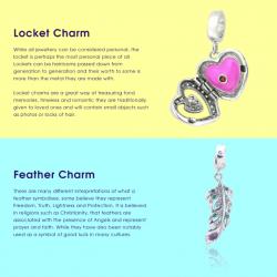 kigu charm braceleet infographic