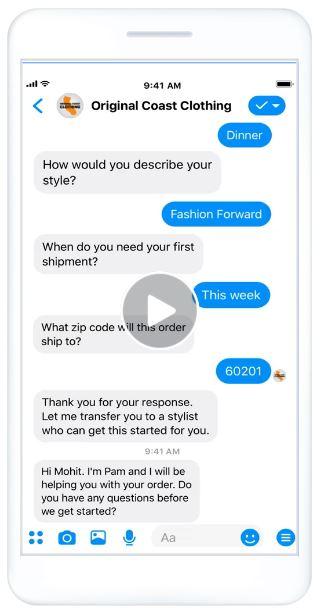 facebook lead gen in messenger