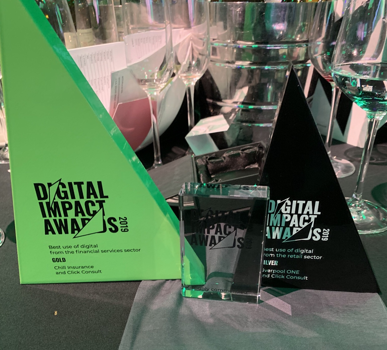 Digital Impact Awards Click Consult Award Win