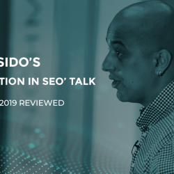 Omi Sido's 'Data Visualisation in SEO' Talk – Benchmark 2019 Reviewed