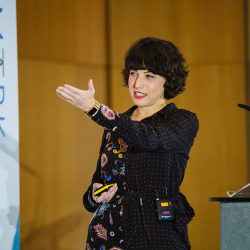Victoria Olsina 'How Blockchain Will Impact Search Engines' Talk – Benchmark 2019 Reviewed