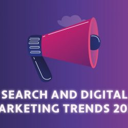 Search and digital marketing trends 2020 – Infographic