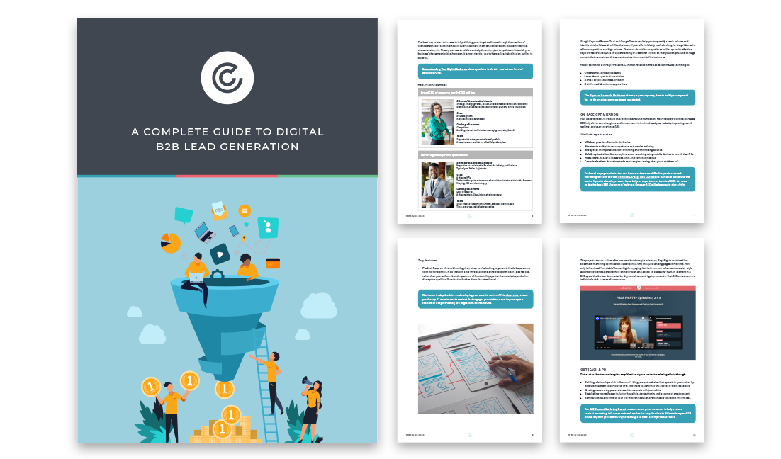 Thank you for downloading 'A Complete Guide to Digital B2B Lead Generation' - desktop