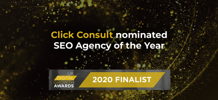 Digital Growth Awards 2020 - Click Consult
