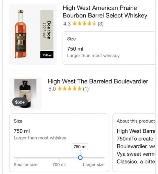 google-size-product-slider