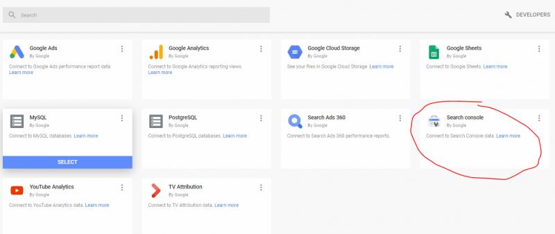 adding google search console